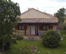 Balcón de Nut I casa rural en Losana De Piron (Segovia)