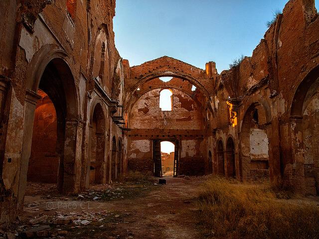 Pueblos abandonados - Belchite