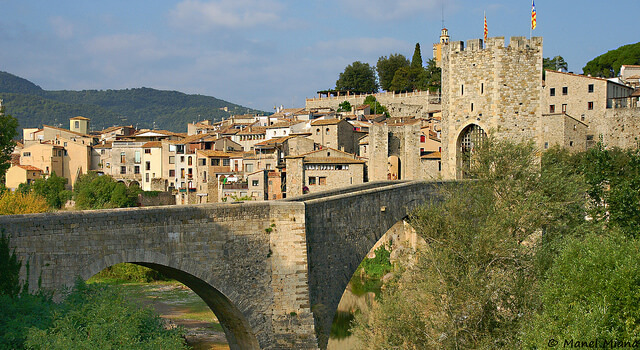 Besalú - Pueblos medievales para ir con niños