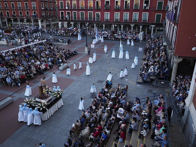 Procesión general Valladolid