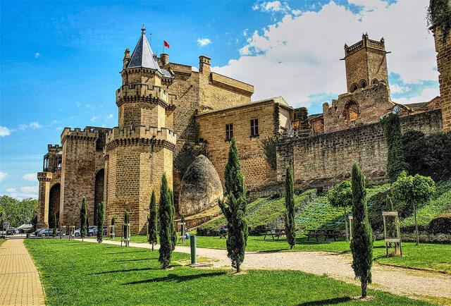 Olite - pueblos medievales para ir con niños
