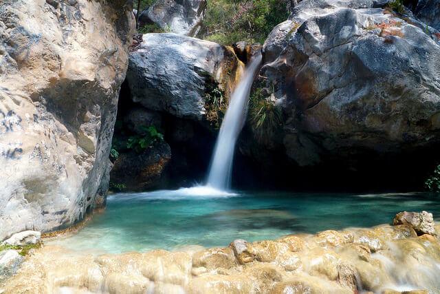 Poza de los Patos Río Chillar