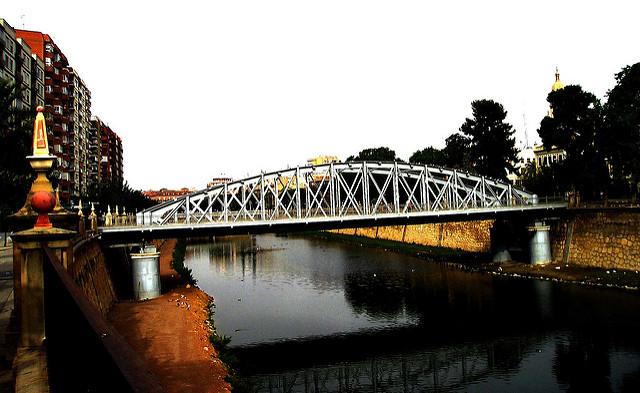 Puente de hierro Murcia