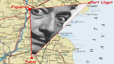 Triangulo de Dalí