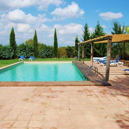 Casas rurales con piscina para ir con ni os clubrural - Hoteles con piscina climatizada para ir con ninos ...