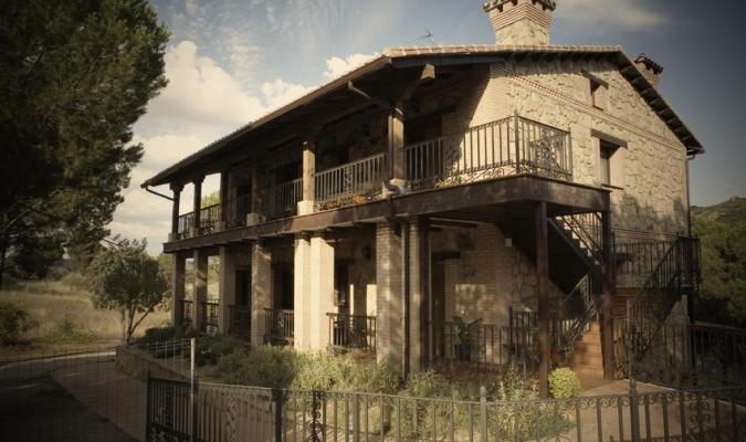 Casa rural hasta 10pax a 1 hora de Madrid