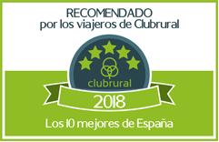 Recomendado 2018 por Clubrural